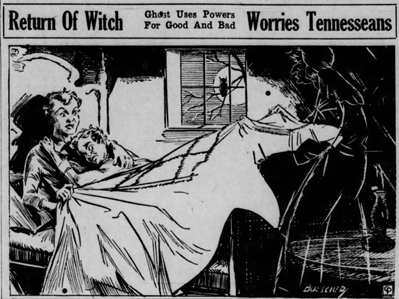 The Bell Witch was rumored to return in 1937.